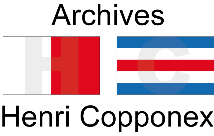 Logo Archives Henri Copponex